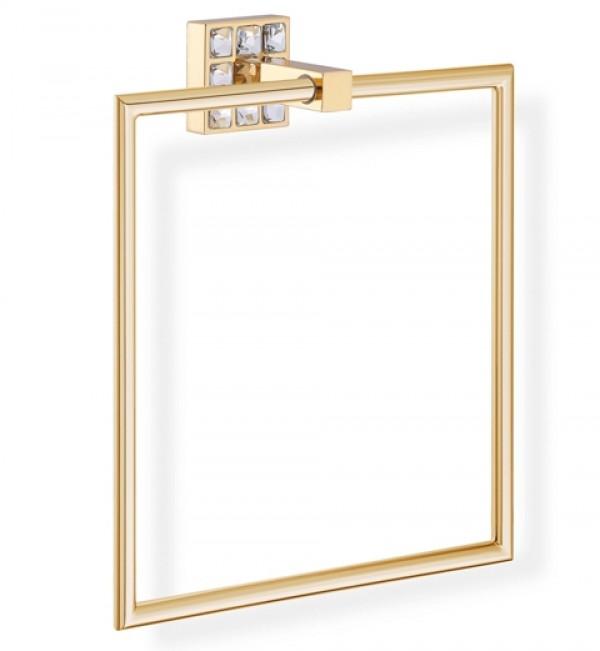 Złoty Kwadratowy Wieszak Do łazienki Na Ręczniki Prestige 5509